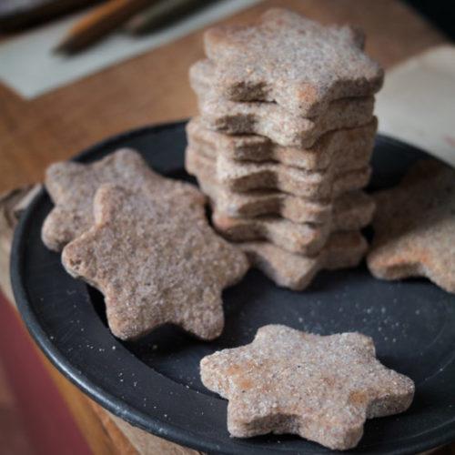 Biscotti vegani integrali biologici - Cannella