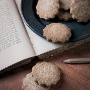 Biscotti vegani integrali biologici - Zenzero
