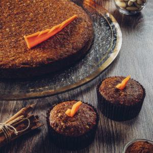 Pel di carota - Carote, mandorle e cannella